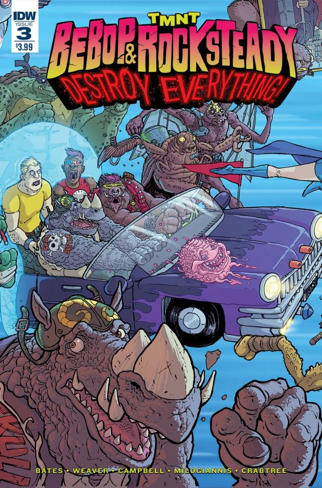 Teenage Mutant Ninja Turtles: Bebop & Rocksteady Destroy Everything #3