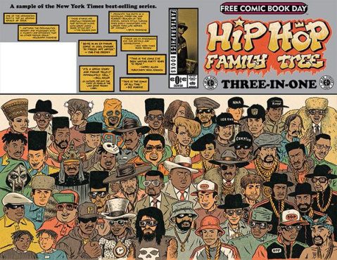 Hip Hop Family Tree: 3-In-1 Featuring Cosplayers