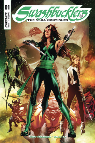 Swashbucklers: The Saga Continues #5 (Guice Cover)