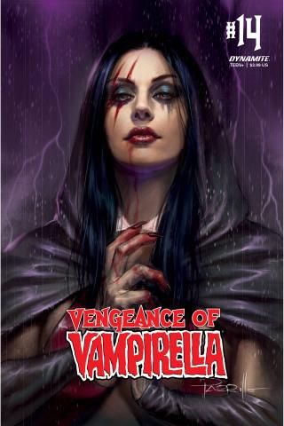 Vengeance of Vampirella #14 (CGC Graded Parrillo Cover)