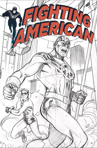 Fighting American #0 (SDCC Cover)