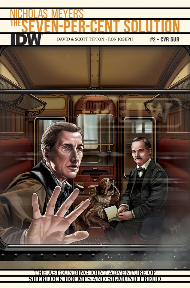 Sherlock Holmes: The Seven-Per-Cent Solution #2 (Subscription Cover)