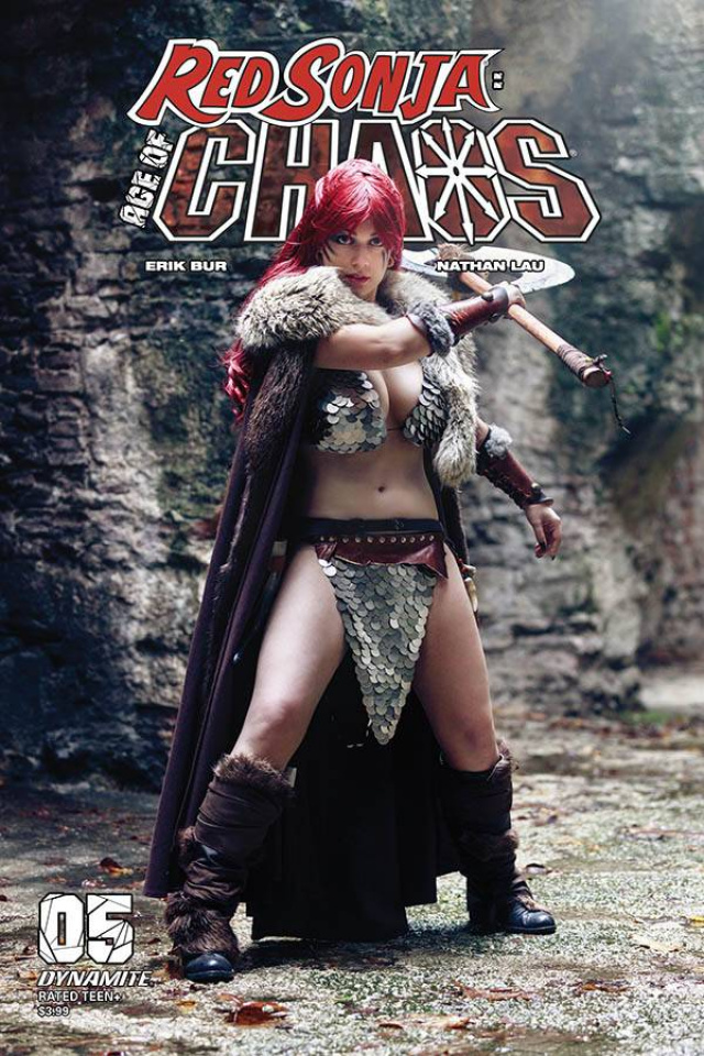 Red Sonja: Age of Chaos #5 (Sabattini Cosplay Cover)