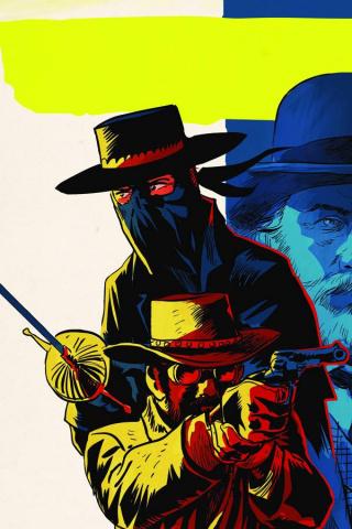 Django / Zorro #5 (10 Copy Francavilla Virgin Cover)