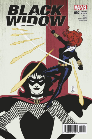 Black Widow #7 (Brigman Classic Cover)