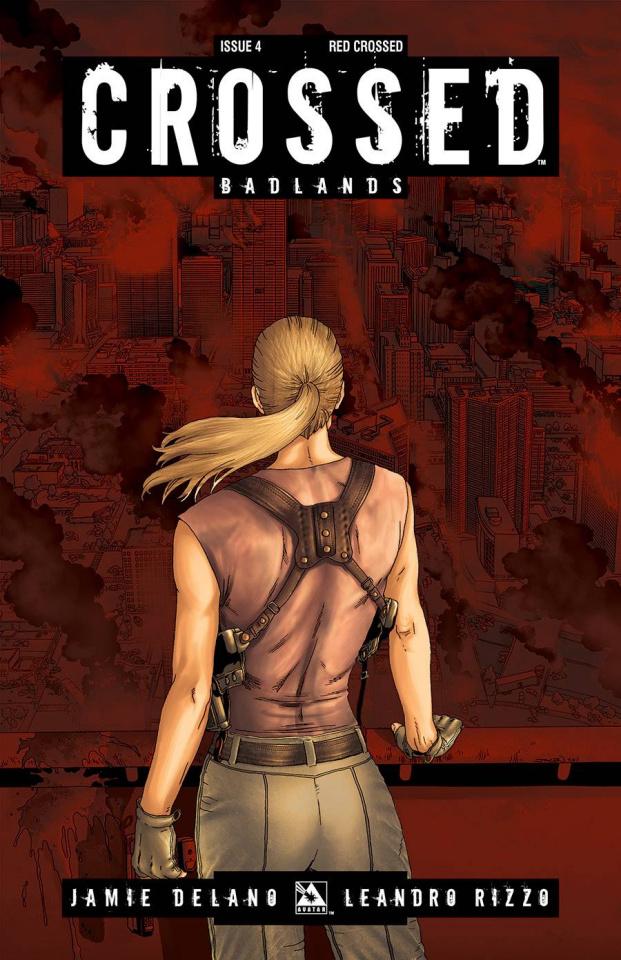 Crossed: Badlands #4 (Red Crossed Cover)