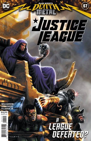 Justice League #57 (Liam Sharp Cover)