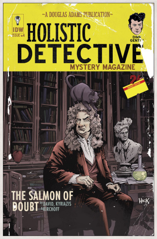 Dirk Gently's Holistic Detective Agency: The Salmon of Doubt #4 (10 Copy Cover)
