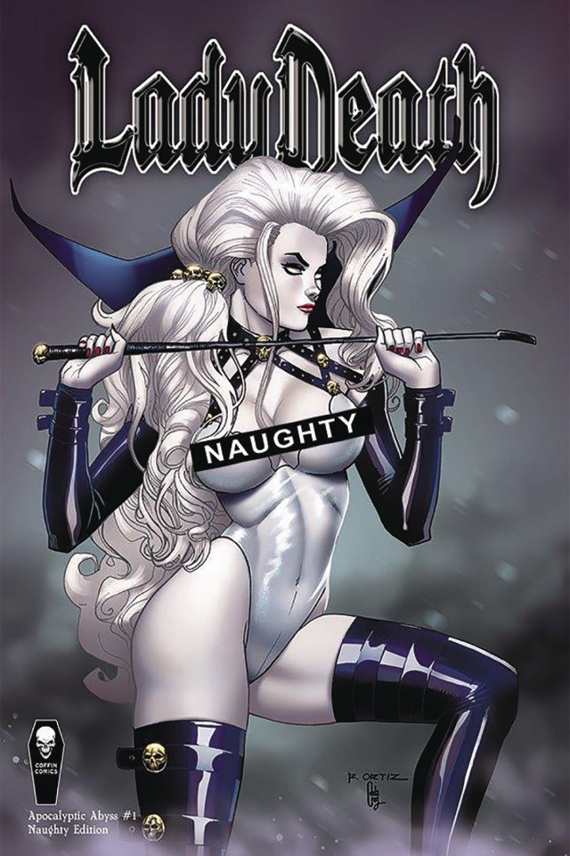 Lady Death: Apocalyptic Abyss #1 (Naughty Cover)