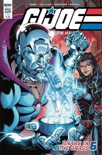 G.I. Joe: A Real American Hero #235 (Subscription Cover)