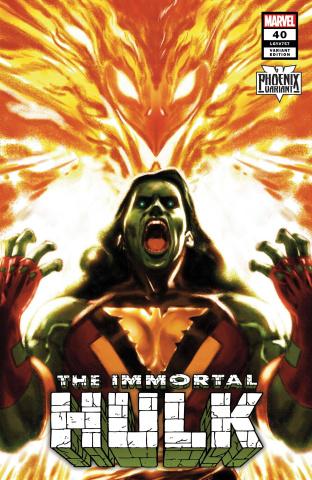 The Immortal Hulk #40 (Clarke She-Hulk Phoenix Cover)