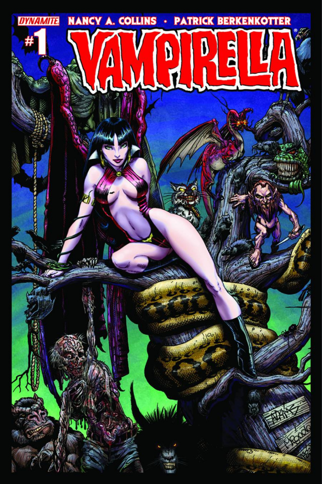 New Vampirella #1 (Adams Cover)