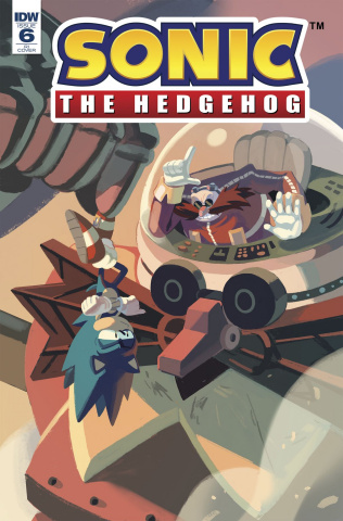 Sonic the Hedgehog #6 (10 Copy Cover)