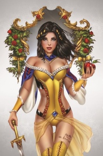 Grimm Fairy Tales #1 (Basaldua Cover)