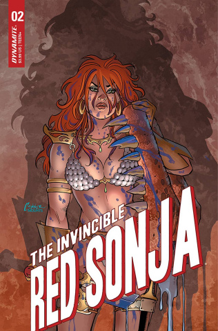 The Invincible Red Sonja #2 (Conner Cover)