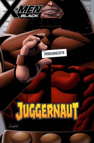 X-Men: Black - Juggernaut #1 (Larroca Mugshot Cover)