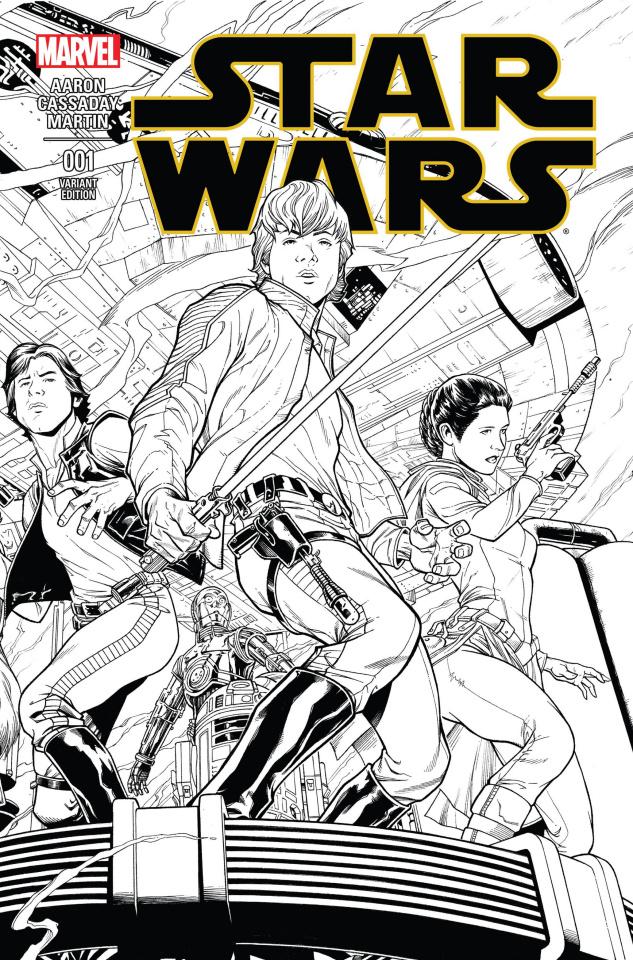 Star Wars #1 (Quesada Sketch Cover)
