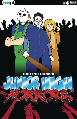 Junior High Horrors #4 (Shaun of Dead Cover)