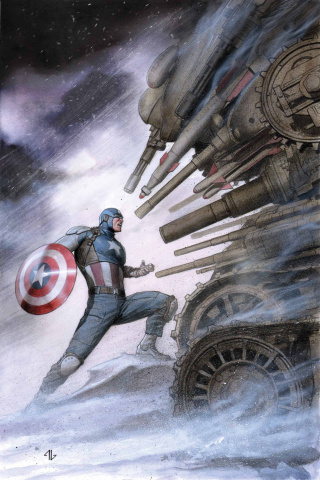 Captain America: The Living Legend #3