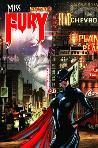 Miss Fury #6 (Chen Cover)