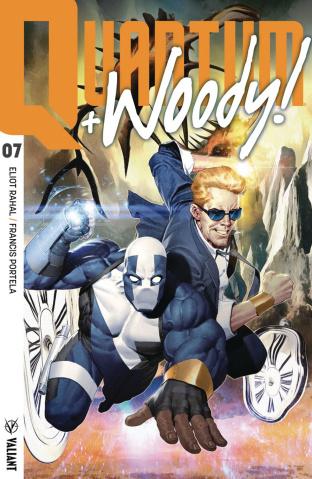 Quantum & Woody #7 (Olivetti Cover)