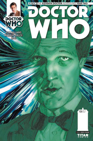Doctor Who: New Adventures with the Eleventh Doctor, Year Two #13 (Fraser Cover)
