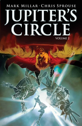 Jupiter's Circle #4 (Sienkiewicz Cover)