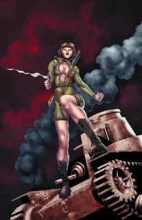 Bar Maid #2 (Qualano Cover)