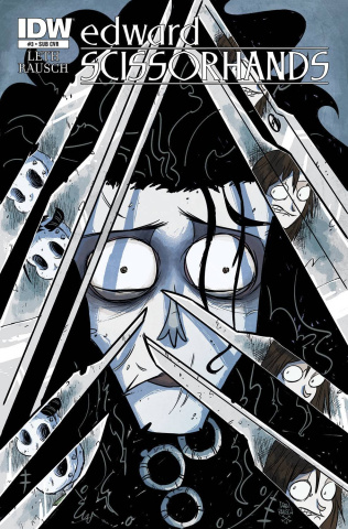 Edward Scissorhands #3 (Subscription Cover)