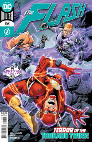 The Flash #758 (Rafa Sandoval Cover)