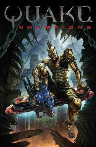 Quake: Champions #2 (Quah Cover)
