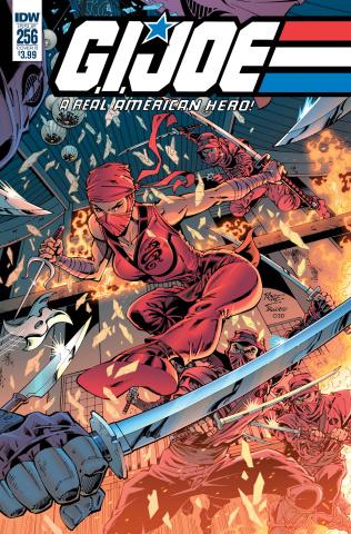 G.I. Joe: A Real American Hero #256 (Royle Cover)