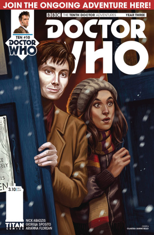 Doctor Who: New Adventures with the Tenth Doctor, Year Three #10 (Iannicello Cover)