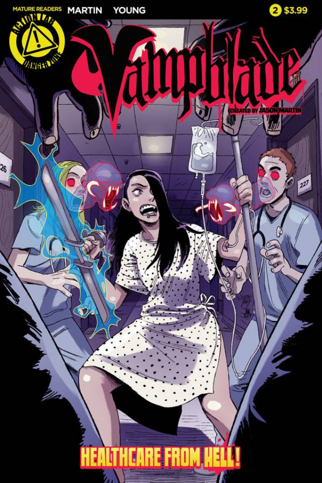 Vampblade #2 (Young Cover)