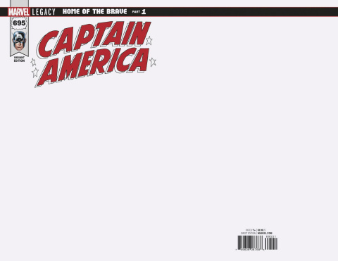 Captain America #695 (Blank Cover)