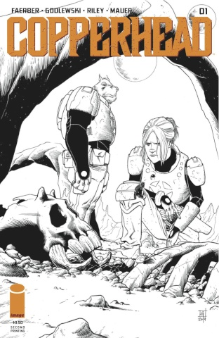 Copperhead #1 (2nd Printing)