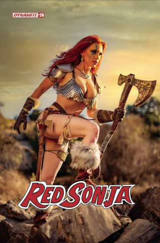 Red Sonja #26 (Gracie Cosplay Cover)