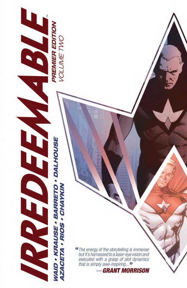 Irredeemable Vol. 2 (Premier Edition)