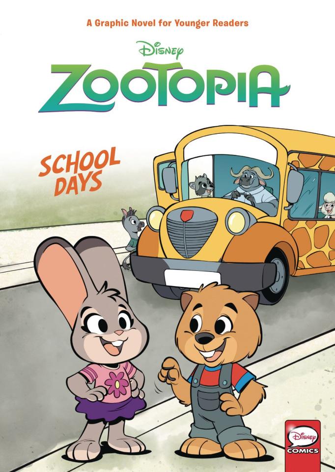 Zootopia Vol. 1: School Days