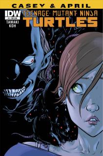 Teenage Mutant Ninja Turtles: Casey & April #4 (Subscription Cover)