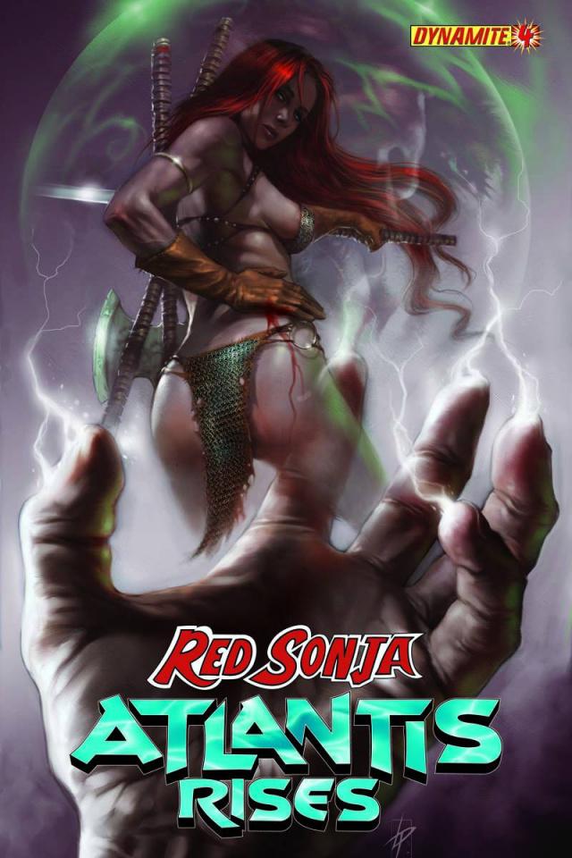 Red Sonja: Atlantis Rises #4