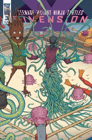 Teenage Mutant Ninja Turtles: Dimension X #3 (Pitarra Cover)
