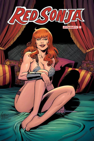 Red Sonja #13 (10 Copy Pepoy Seduction Cover)