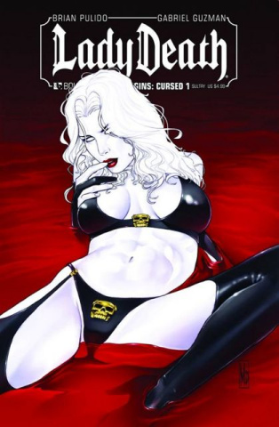 Lady Death Origins: Cursed #1 (Sultry Cover)