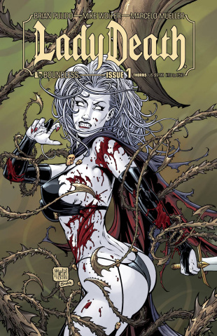 Lady Death #1 (Thorns Cover)