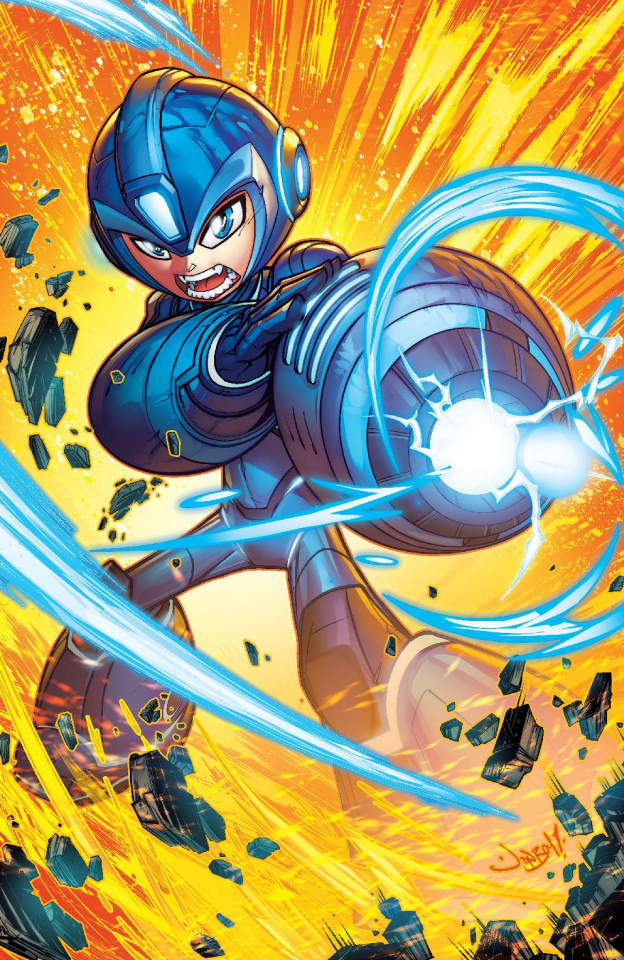 Mega Man: Fully Charged #3 (Meyers Cover)