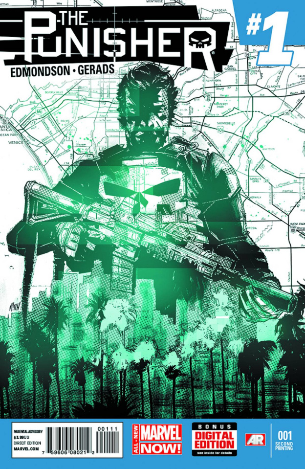 The Punisher #1 (2nd Printing)