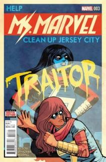 Ms. Marvel #3 (Chiang 2nd Printing)
