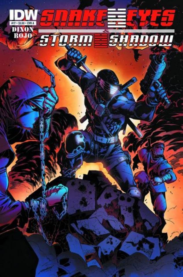 Snake Eyes & Storm Shadow #17