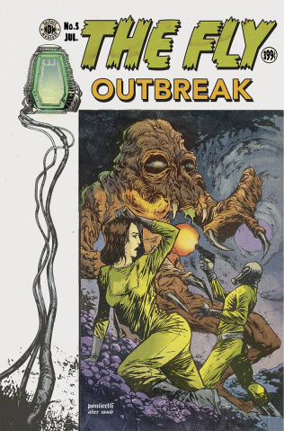 The Fly: Outbreak #5 (EC Subscription Cover)
